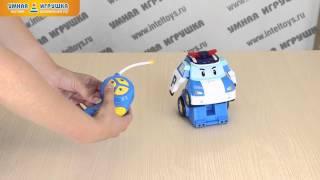 Робот-трансформер «Робокар Поли» на радиоуправлении (Robocar Poli), 15 см