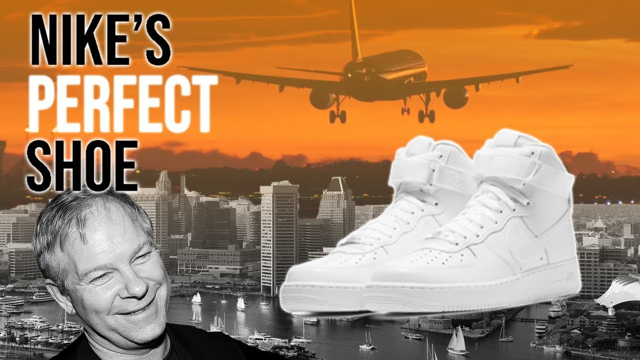 Nike Air Force 1: The Legend Behind Nike's Perfect Shoe