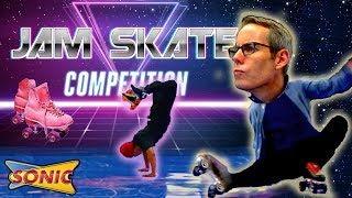 Jam Skating Competition | Amazing! The Sonic guy was a judge!