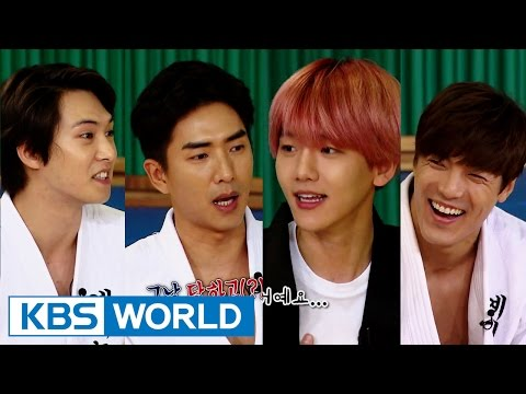 Cool Kiz on the Block | 우리동네 예체능 - Special Guest Baekhyun and the Second Official Match (2015.11.10)