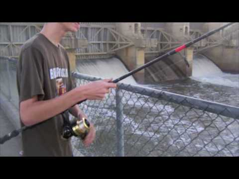 Fishing Copan Dam Video