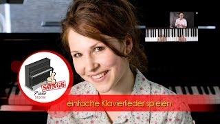 Klavier lernen - Klavier spielen für Anfänger - einfache Klavierstücke lernen - Autumn Melody