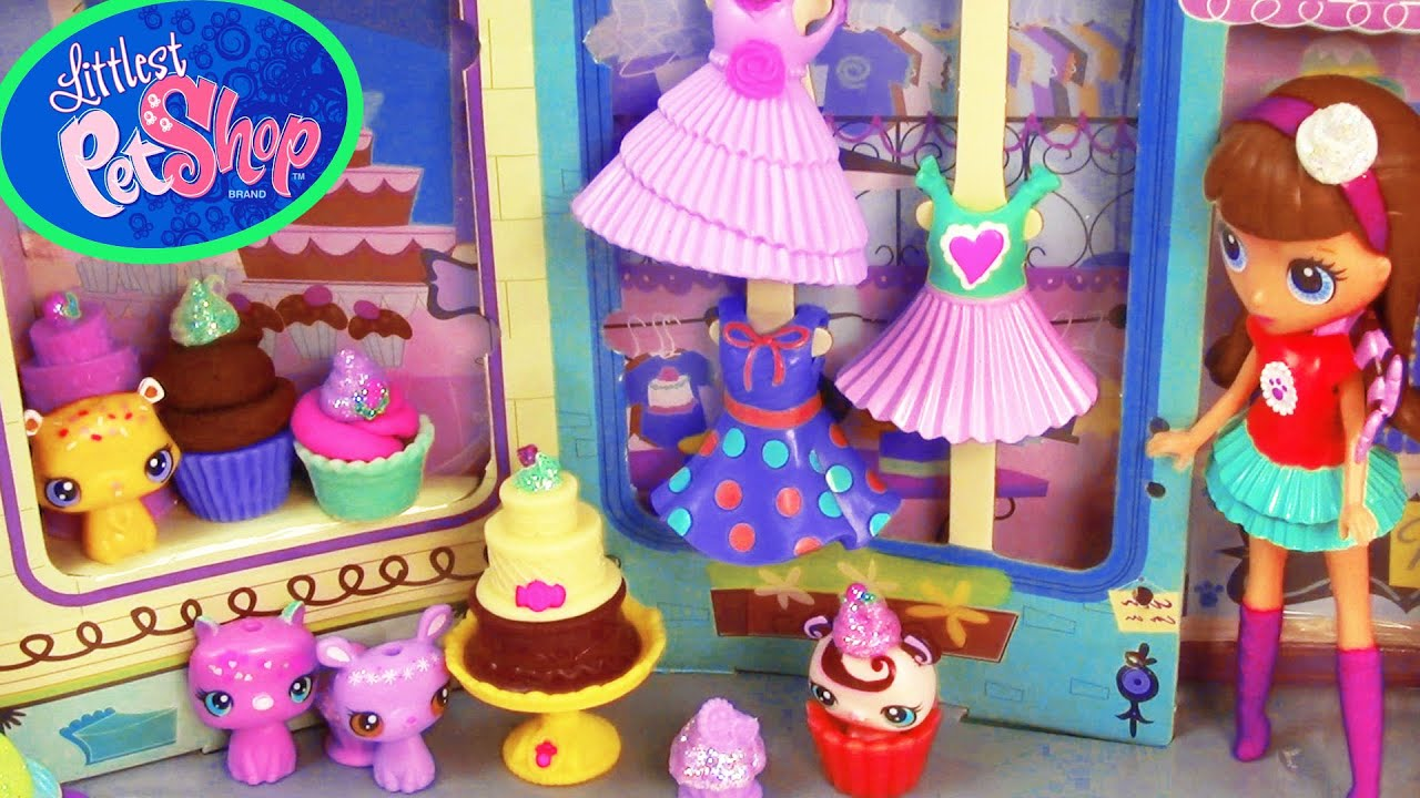 lps sweetest sugar chic shoppe playdoh cupcakes chocolate
