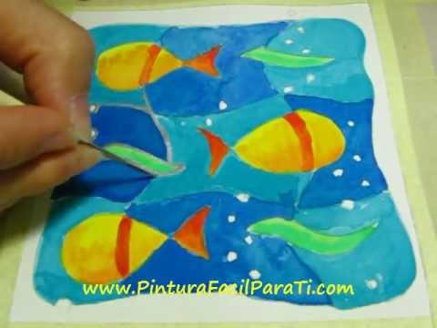 Pintar Tarjetas 6 - Pintura Facil Para Ti.wmv