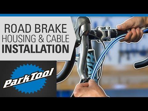 Brake Housing & Cable Installation - Drop Bars #1