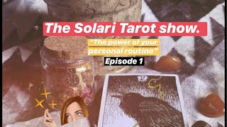 "The Solari Tarot Show ☀️ Episode 1- ""The Hierophant"" (ALL SIGNS + LIVE Personal reads)"