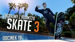 #19 Zagrajmy w Skate 3 - KONKURS ! Wygraj XBOX LIVE GOLD - XBOX 360 - PL