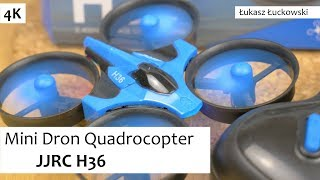 Mini Dron Quadrocopter JJRC H36  - Mały Ale wariat | Rzut Oka