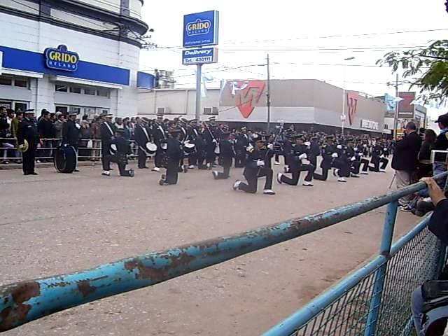 Desfile Cadetes de la Policía del Chaco 2011