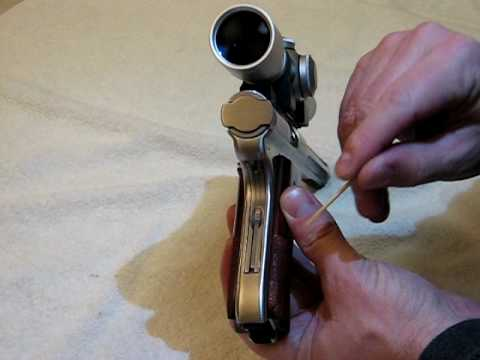 Ruger MkIII Field Stripping Part 1 of 3