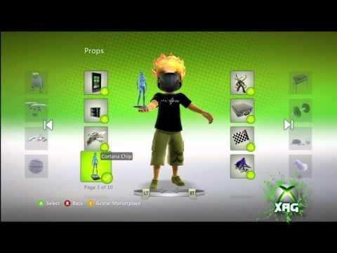 Cortana Chip Xbox Avatar Prop Pax   Halofest 2011 Exclusive video