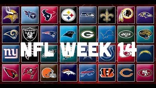 NFL Week 14 Picks & Predictions 2018 | 2019