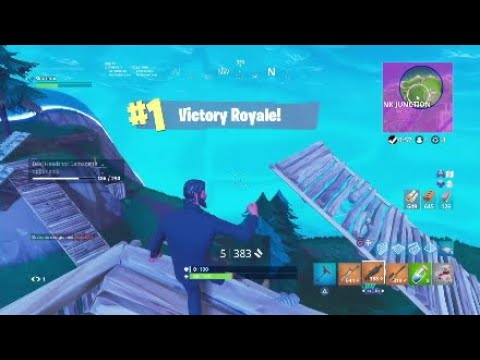 Fortnite Flawless 8 Kill Game Win!