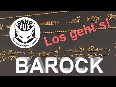 DekoFux Barock - Los geht´s mit dem Verkaufsstart!