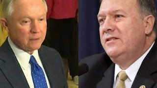 Trump Picks Sessions for AG; Pompeo for CIA