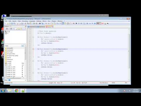 Projects in HTML5 – Chapter 39 – DOM Manipulation Using JQuery
