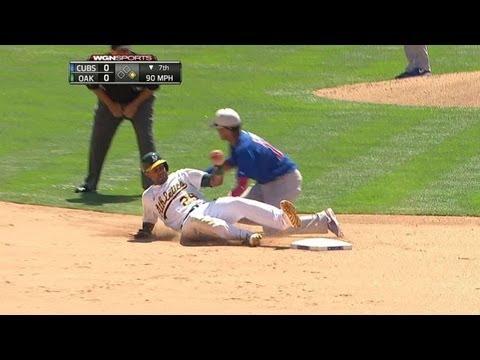 CHC@OAK: Castillo, Castro nab Young stealing second