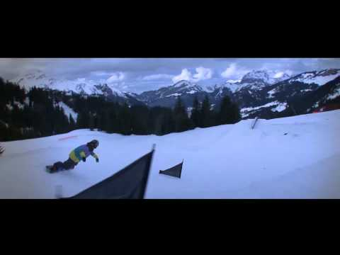 Nike's Snake and Hammers: Snow Board à Châtel