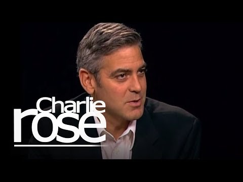 George Clooney talks to Charlie Rose Video