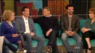 "The Men Of Desperate Housewives on ""The View"" Part 1"
