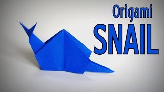 Origami  How To Make A Snail