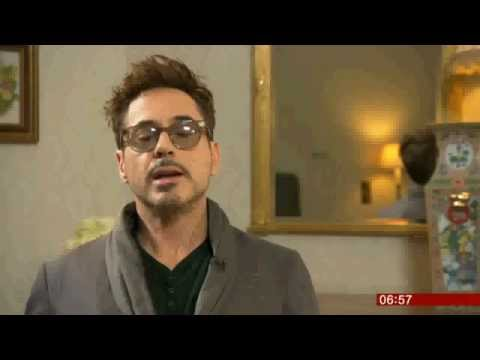 Robert Downey Jr. Iron Man 3 and Sherlock Holmes BBC Television