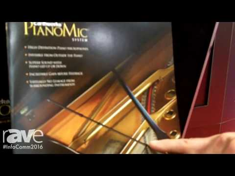 InfoComm 2016: Earthworks Audio Highlights PM40 and PM40T Piano Microphone Series