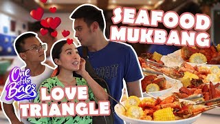 VLOG 30: LOVE TRIANGLE MUKBANG WITH OKOY & AMAY