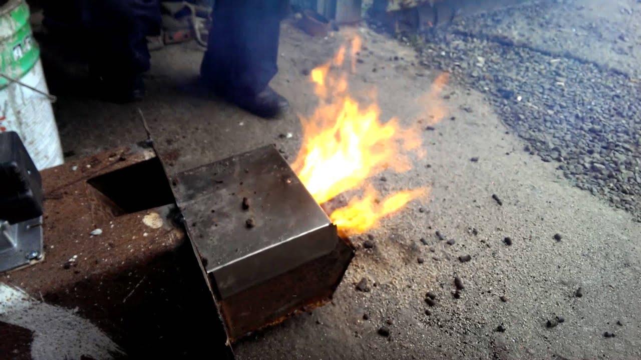 Как сделать пеллетную горелку своими руками