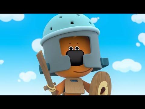 МИ-МИ-МИШКИ - Новые серии 2016! - Баллада о рыцарях - Смешные и веселые мультфильмы