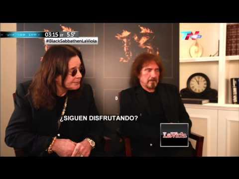 BLACK SABBATH EN ARGENTINA ENTREVISTA EN LA VIOLA HD