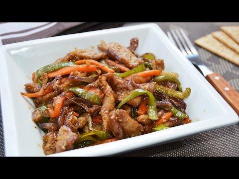 Wok de Ternera y Verduras | Recetas de cocina oriental