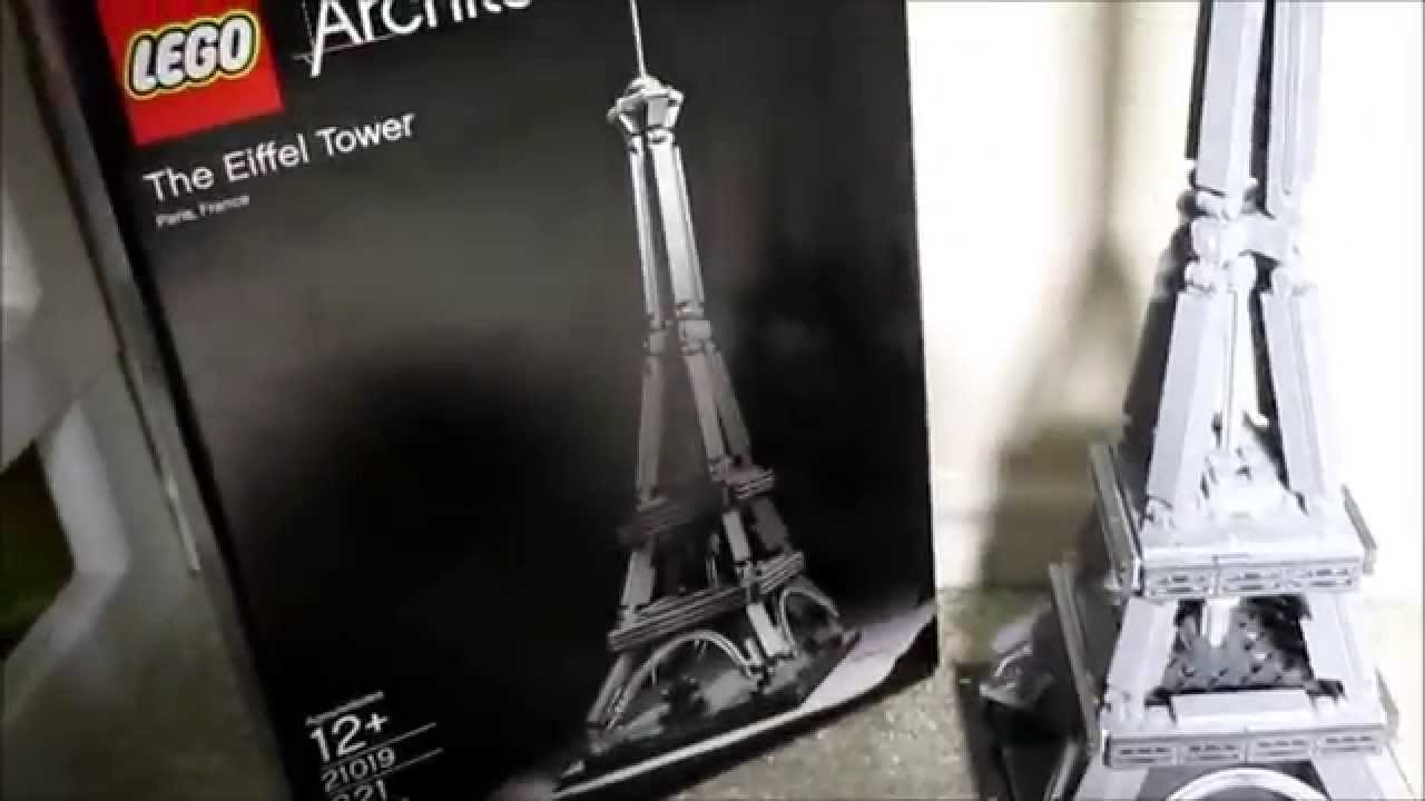 Eiffel Tower Lego Set Lego Architecture Eiffel Tower