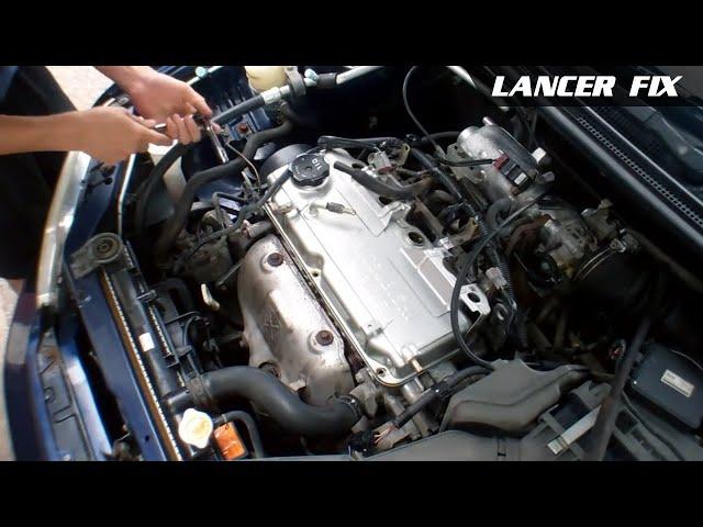 Lancer Fix 1 | Rough Idle / Engine Light / O2 Sensors ...
