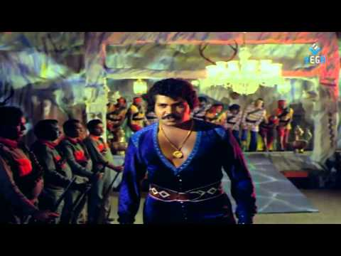 Puli Bebbuli Movie - Chiranjeevi Action Scene