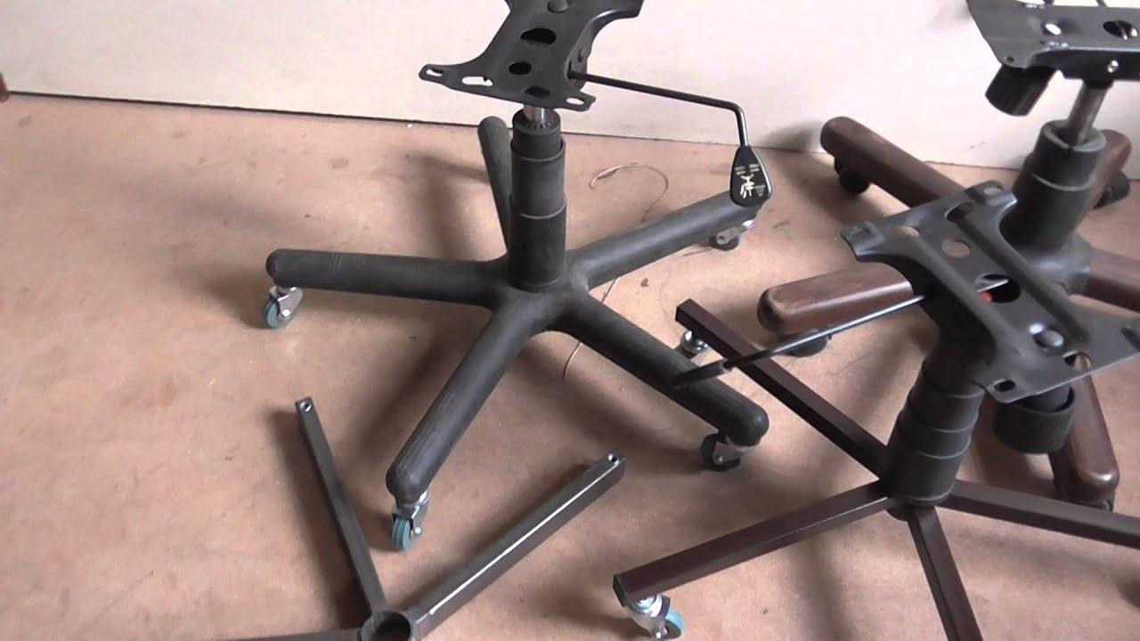 Как сделать прорезиненные колесики для офисного кресла - нужны 79
