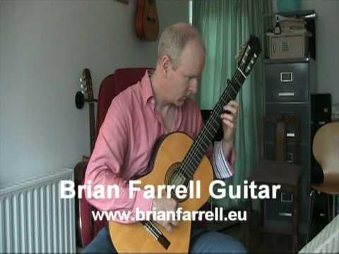 Fantasia - Alonso Mudarra - Brian Farrell Guitar