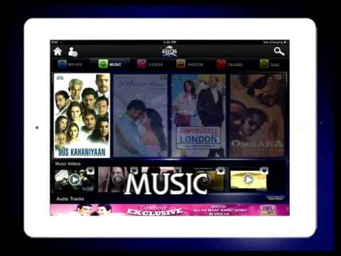 EROS Entertainment App by KiwiTech