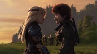 Hiccup and Astrid being relationship goals for 3 minutes straight