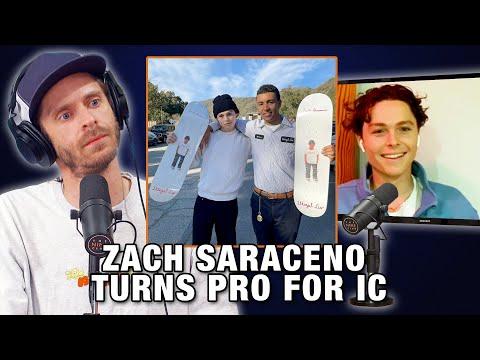How Zach Saraceno Turned Pro For IC