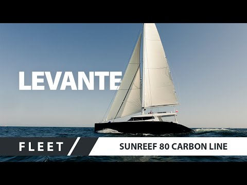 Sailing Catamaran Superyacht - Sunreef 80 Carbon Line LEVANTE