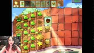 GAMING TEST 2 - Plants vs Zombies