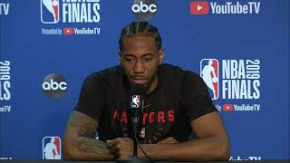 Toronto Raptors Media Availability | NBA Finals Game 6
