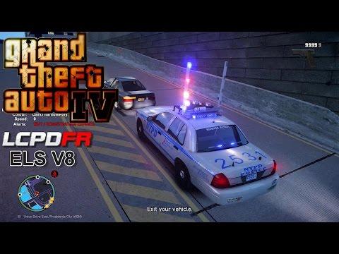 GTA IV - LCPDFR - 1.0C - EPiSODE 69  - NYPD CROWN VICTORIA HIGHWAY PATROL