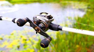 NEW Baitcaster Fishing Challenge!!