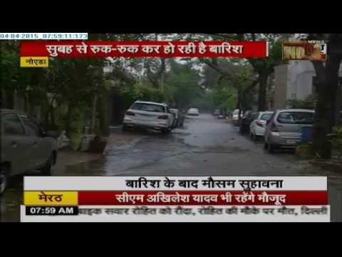 Unseasonal Rain Lashes Delhi