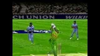 Shane Warne Cricket '99 (Gameplay)