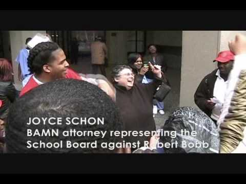 Walkout at Detroit's Northwestern HS to Stop Robert Bobb's School Closings (Part 1) Video