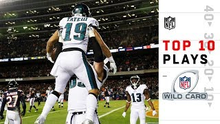 Top 10 Plays from Wild Card Weekend | 2018 NFL Playoffs