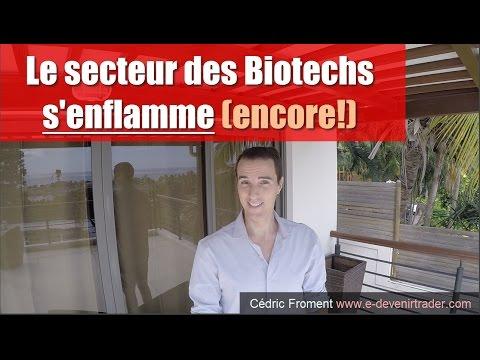 Le secteur des Biotechs s'enflamme (encore!)